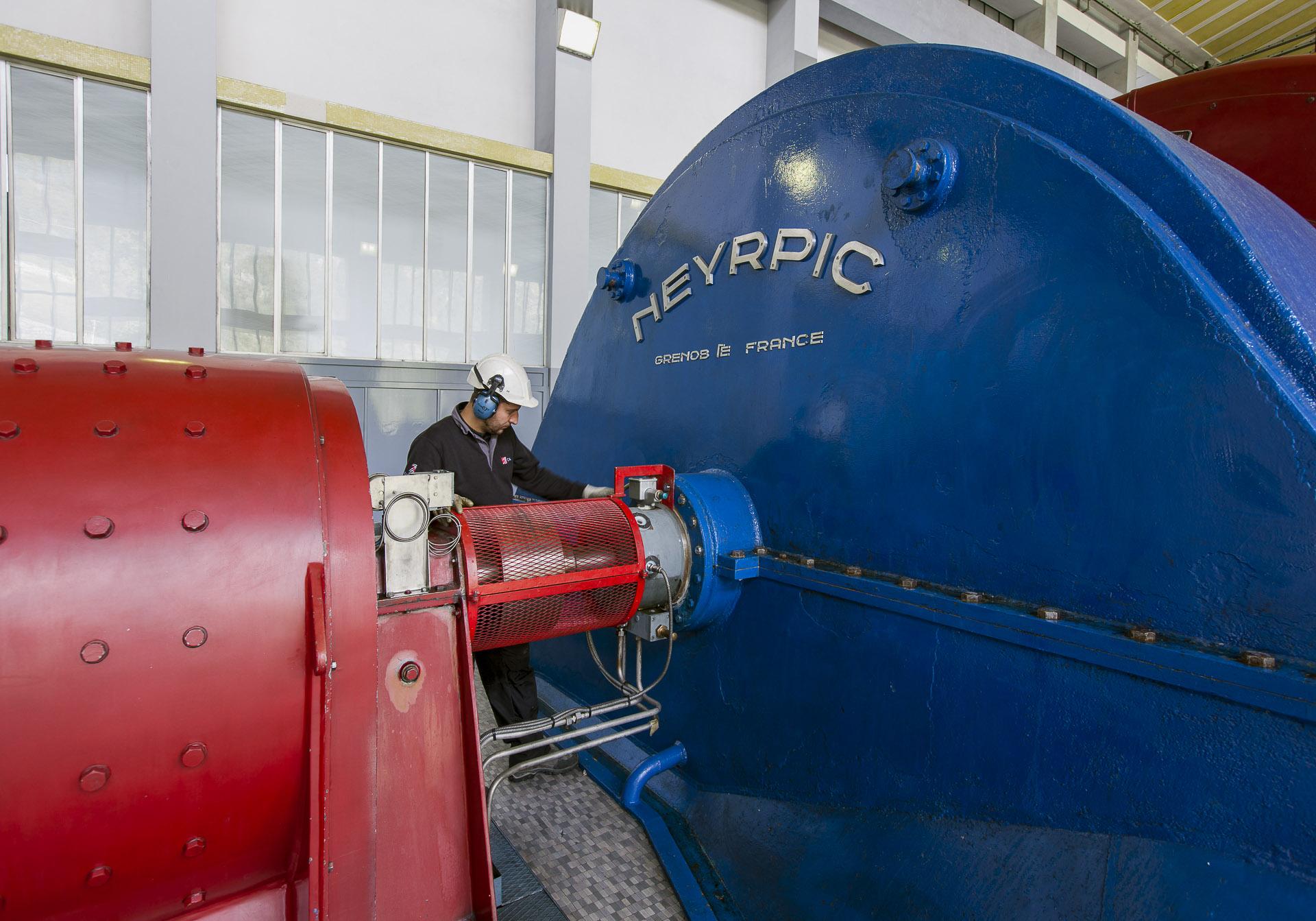 Visita centrale idroelettrica Valpelline CVA