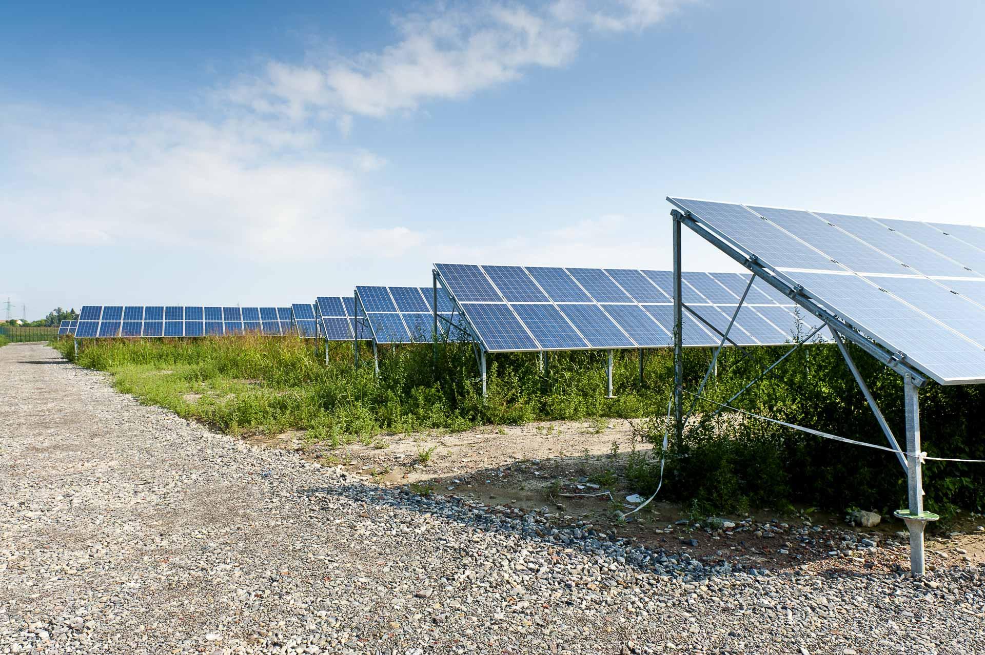 Parco produzione energia dal sole rinnovabile sostenibile Alessandria sud