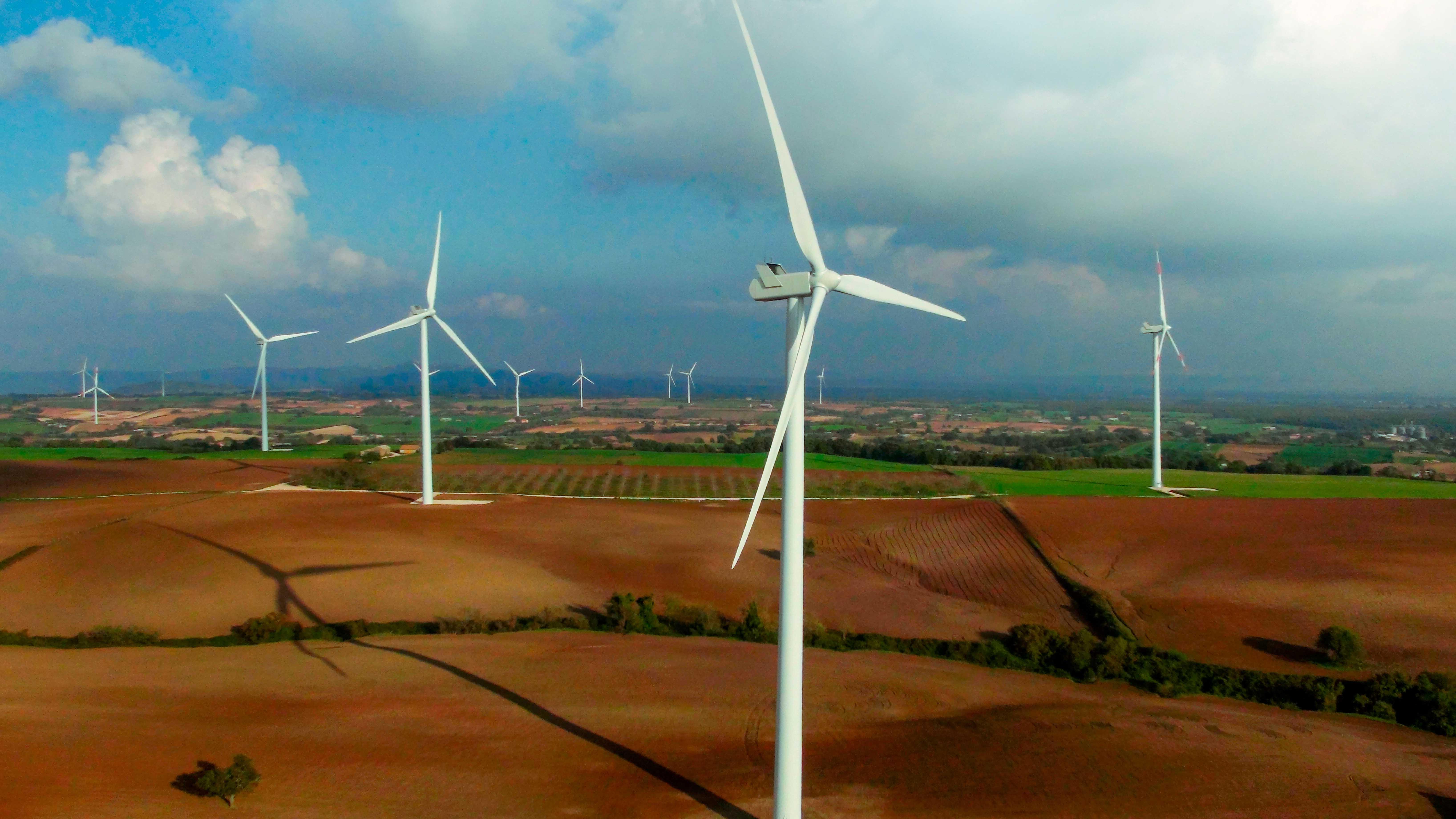 Parco eolico di Piansano