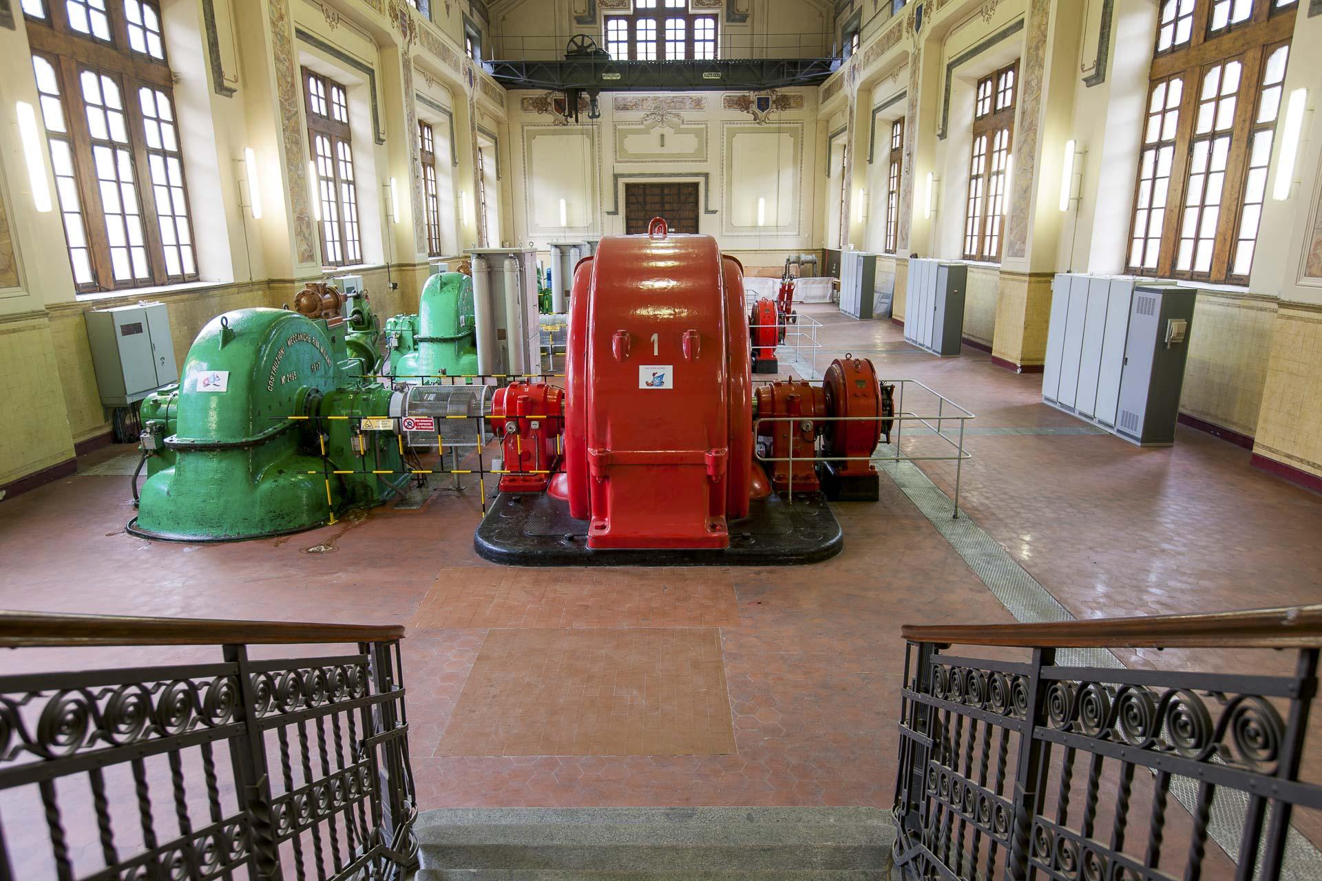 Centrale di Champagne 1 produzione energia idroelettrica sostenibile Gruppo CVA