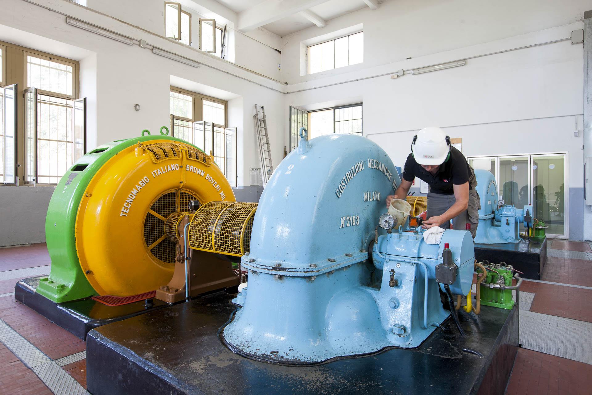 Centrale di Champdepraz produzione idroelettrica rinnovabile Gruppo CVA