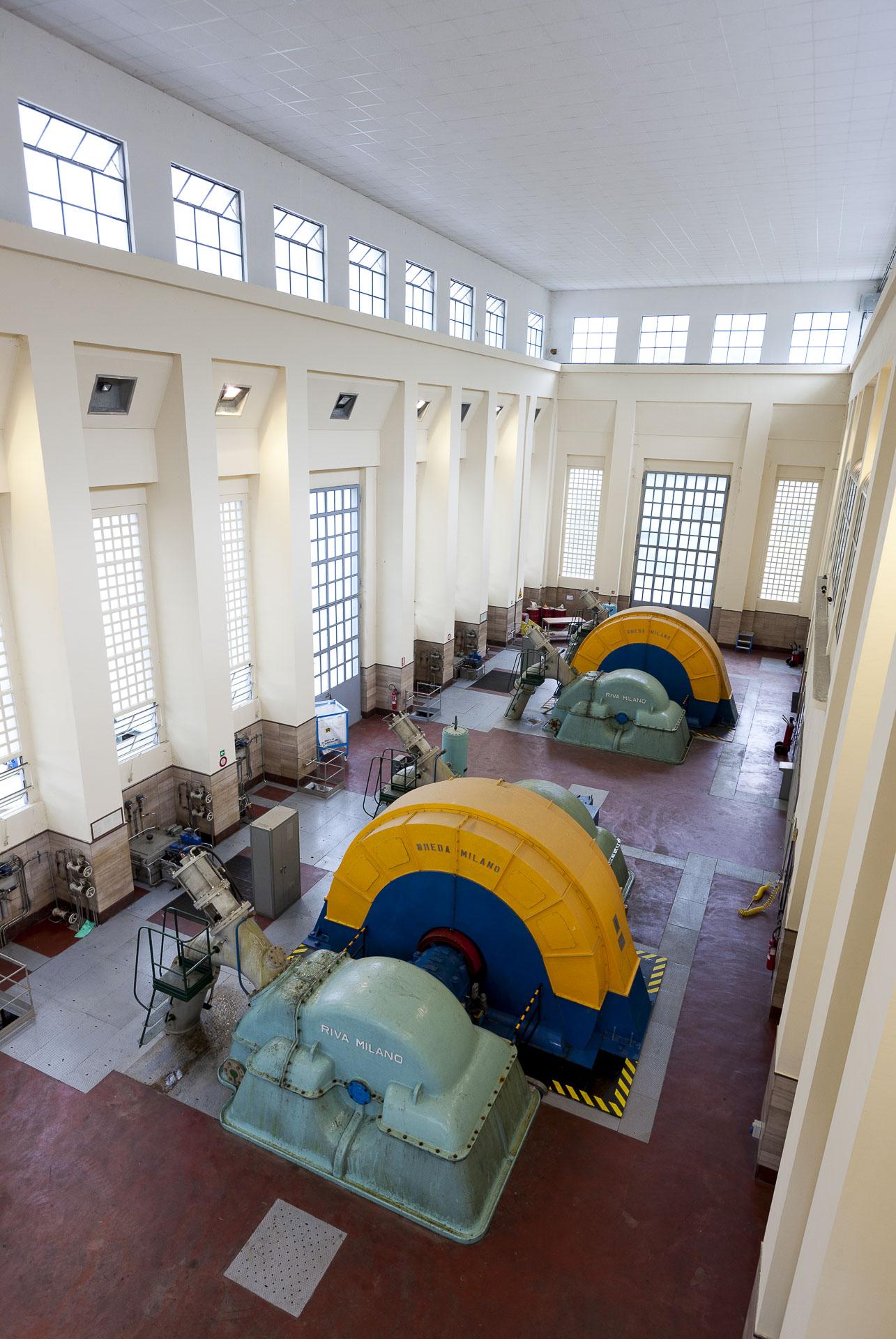 Centrale idroelettrica di Chatillon Gruppo CVA produzione energia rinnovabile