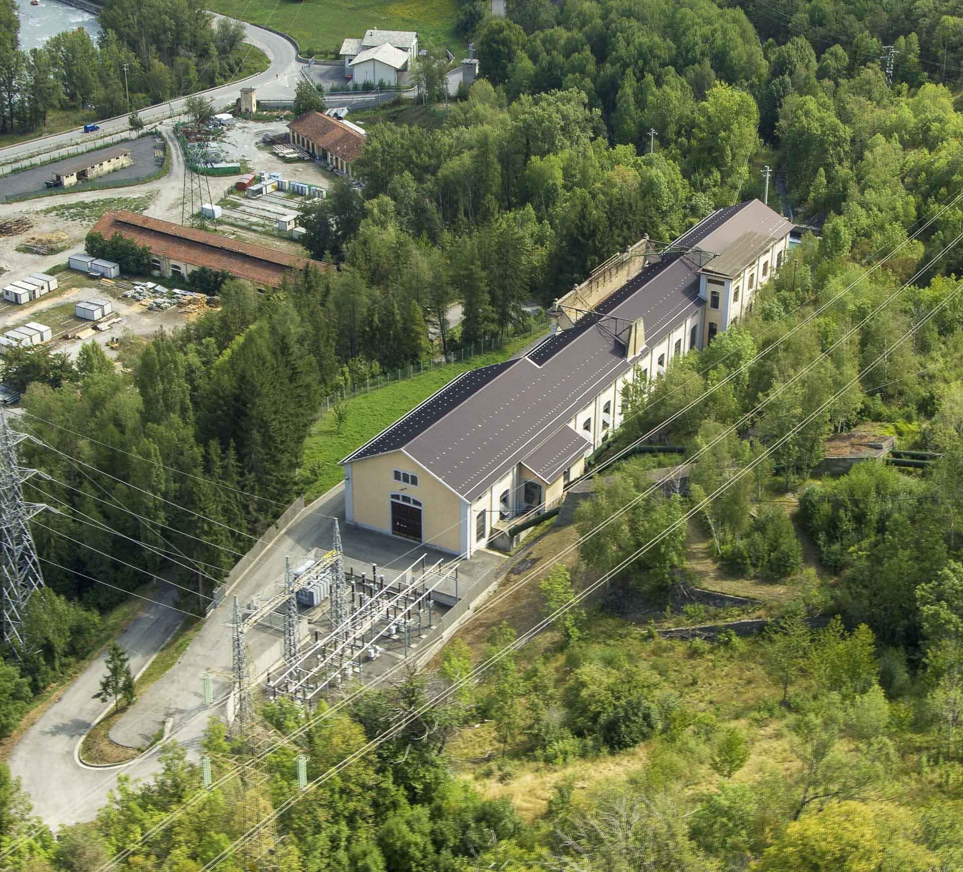 Centrale idroelettrica di Chavonne ad acqua fluente per energia sostenibile Gruppo CVA