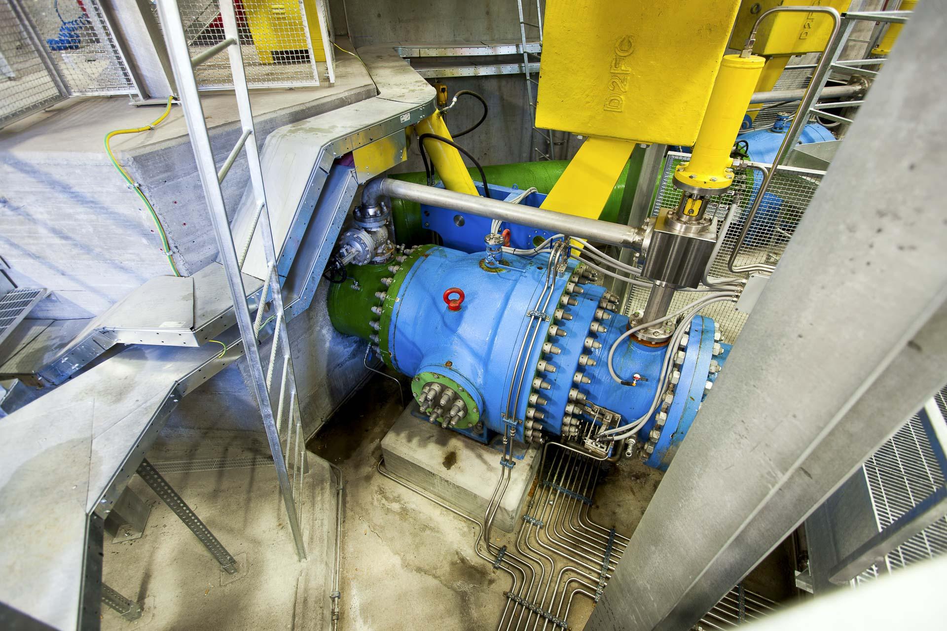 impianto idroelettrico rinnovabile di Faubourg CVA