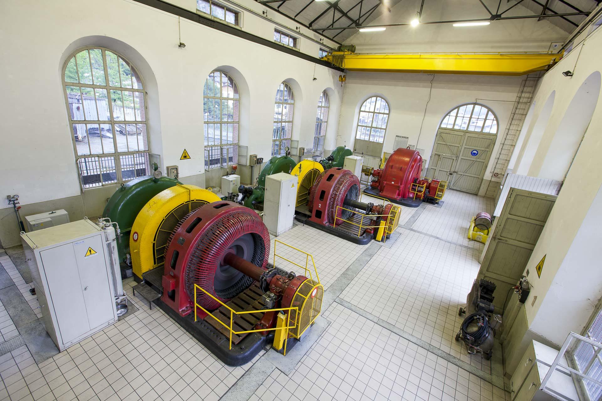 Centrale produzione idroelettrica rinnovabile Hone 2 CVA