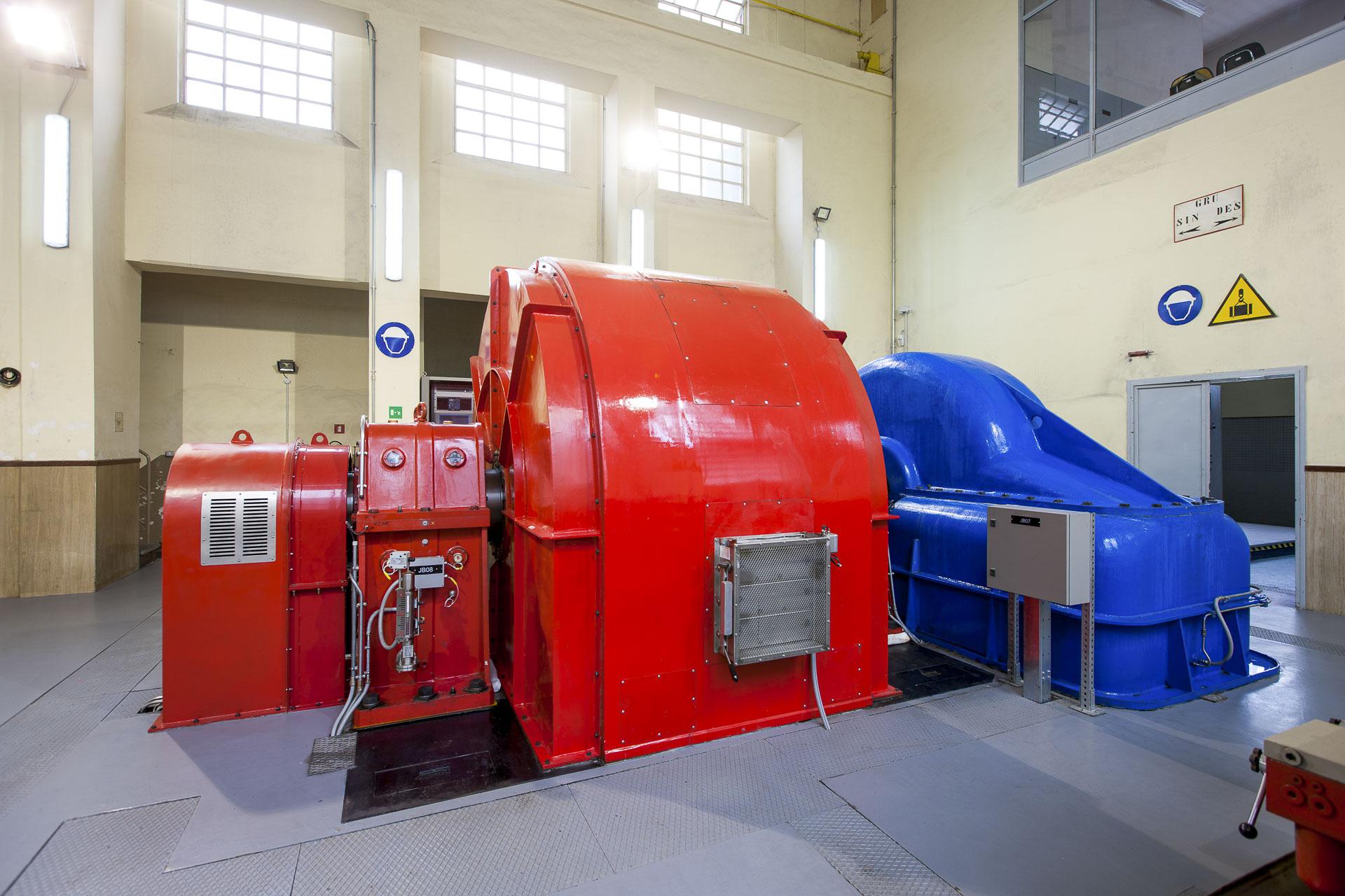 Centrale energia rinnovabile idroelettrica Nus CVA
