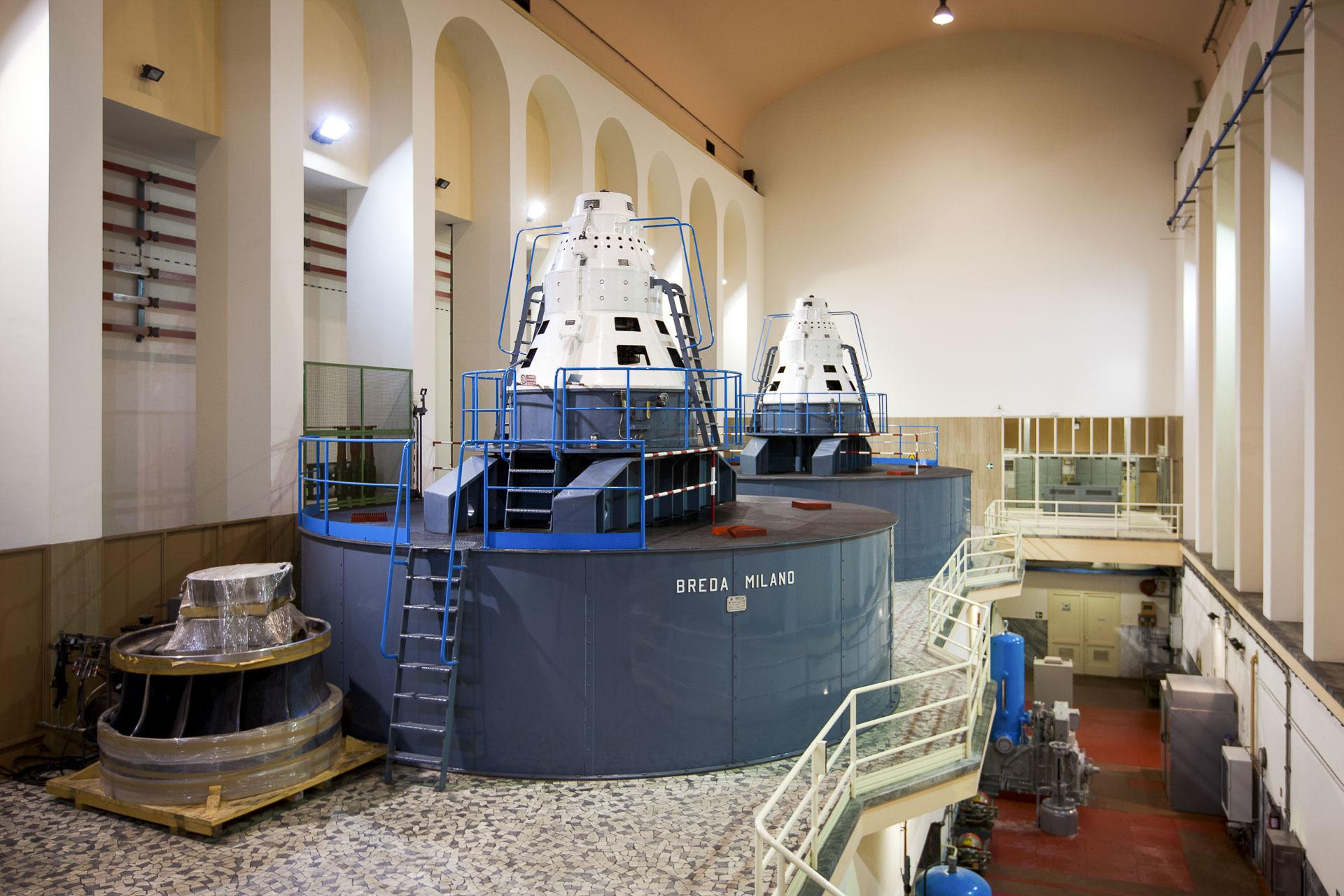 Centrale idroelettrica di Saint Claire produzione energia rinnovabile