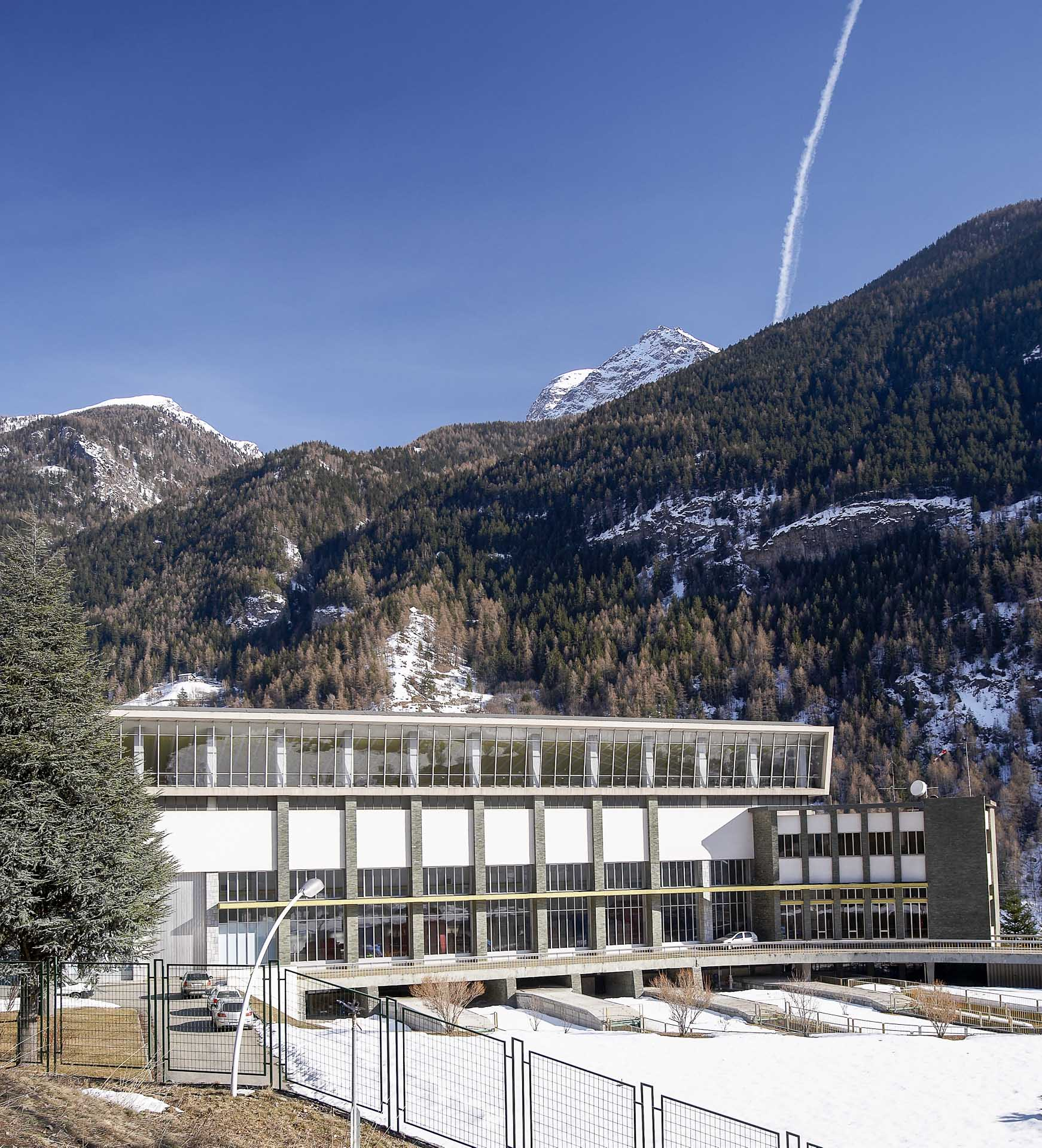 Impianto produzione energia verde idroelettrica a Valpelline del Gruppo CVA