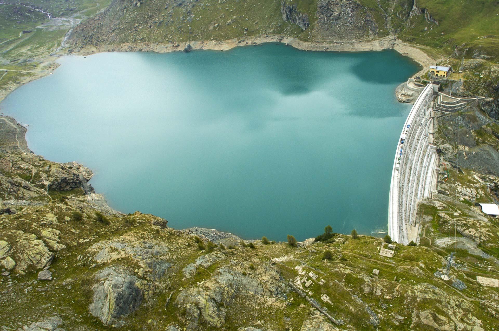Diga del Gabiet Energia rinnovabile idroelettrica Gruppo CVA